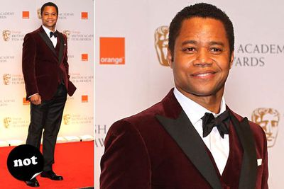 The <i>Red Tails</i> leading man looks a bit like a kid who thought he'd try something different for his year 12 formal.
