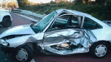 Texting driver found guilty after freeway crash kills her friend