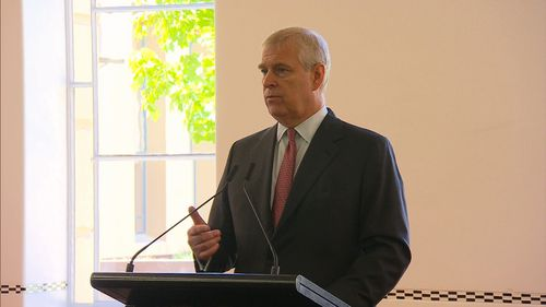 Prince Andrew, the Duke of York, has continued his Australian tour by opening an innovation hub at the Royal Adelaide Hospital.