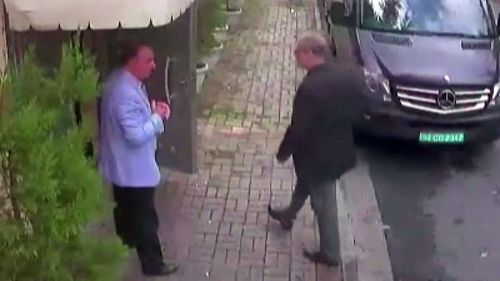 There has been international interest in outspoken journalist Jamal Khashoggi's killing since CCTV footage showed him enter the consulate where he was allegedly slayed last October.