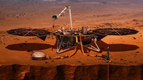 The NASA Insight spacecraft is designed to explore Mars.