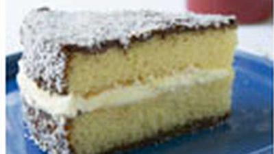 "Recipe:&nbsp;<a href=""http://kitchen.nine.com.au/2016/05/18/04/35/chocolate-lamington-sponge"" target=""_top"">Chocolate lamington sponge</a>"