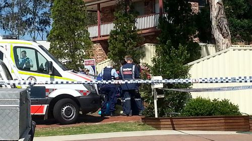 Police were called to the scene around 12.20pm. (9NEWS)