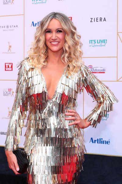 Nine's Leila McKinnon's head-turning curls were a beauty win on the red carpet