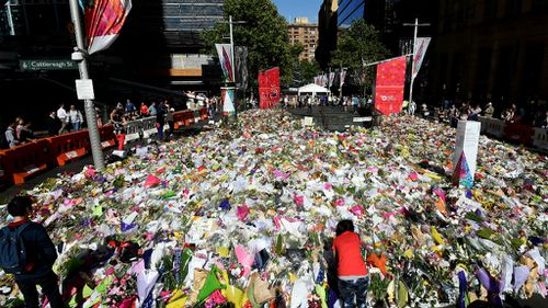 Sydney siege tributes to be collected and kept
