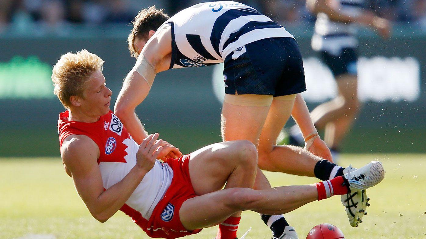 Geelong Cats' Chris Scott slams AFL match-day reports after Jordan Murdoch booked for rough conduct
