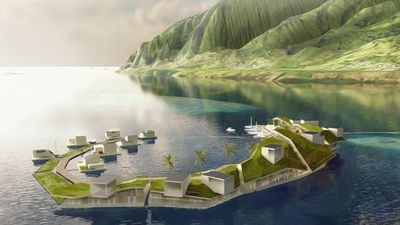 The world's first floating 'utopian' city set to launch in 2022