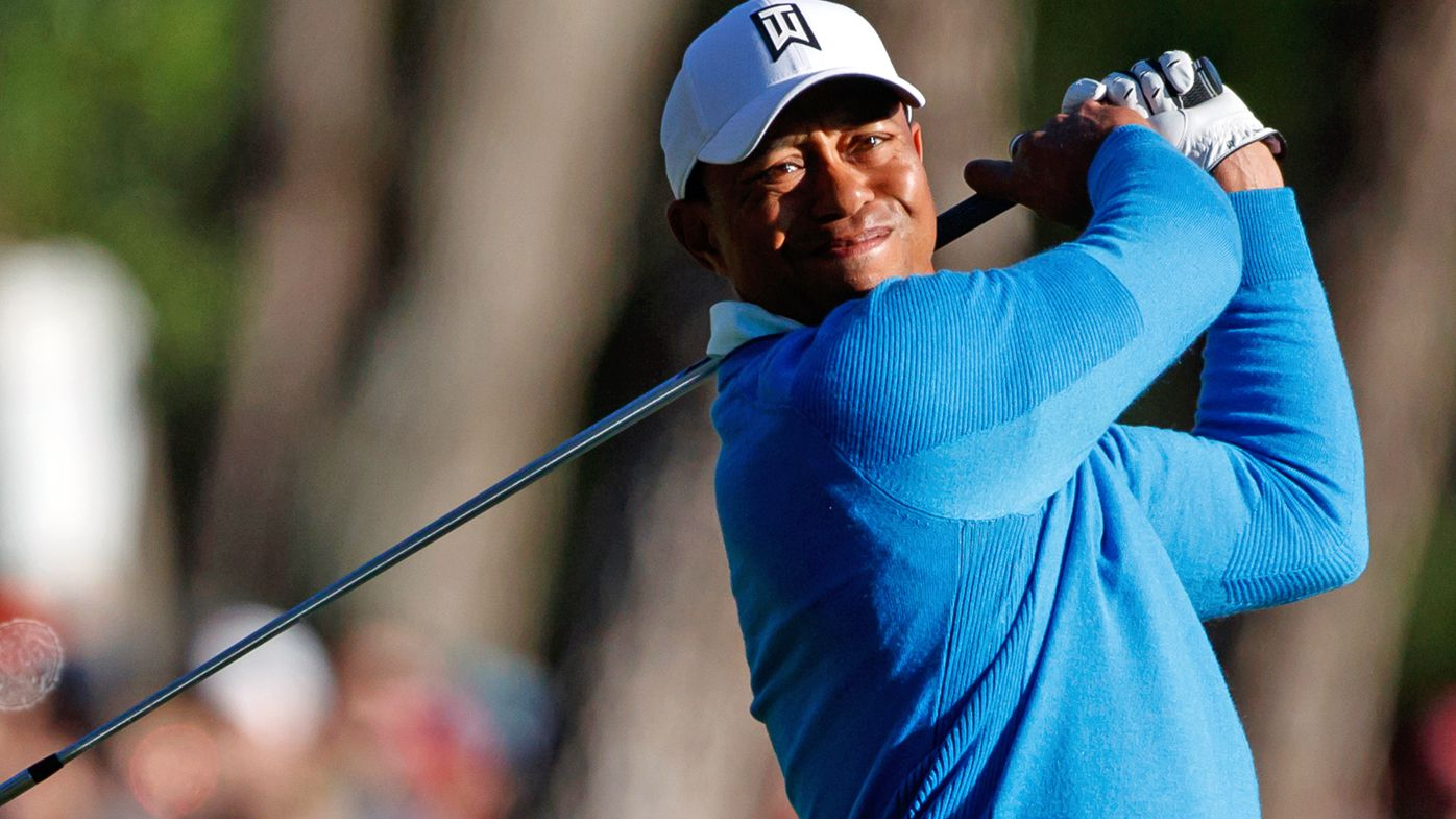 Woods right in the mix at PGA Tour event