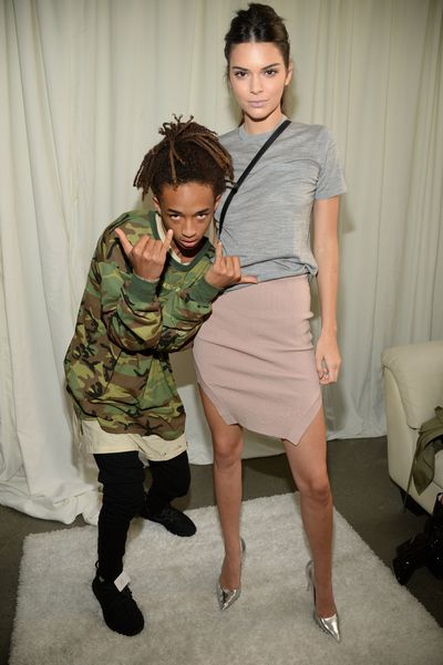 Jaden Smith and Kendall Jenner.