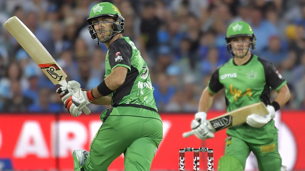BBL: Adelaide Strikers down Melbourne Stars despite Maxwell 60