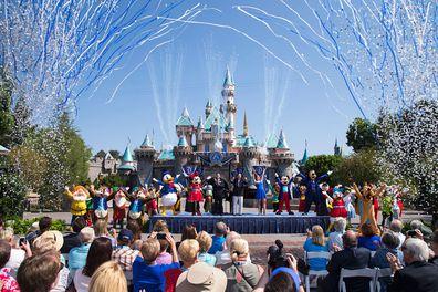 Disneyland, Anaheim, California, America