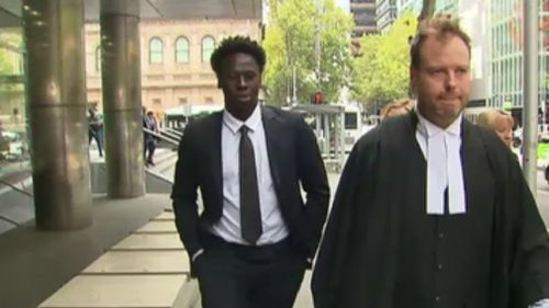 Her honour found Mawien already been fully rehabilitated and shown genuine remorse for his actions. (9NEWS)