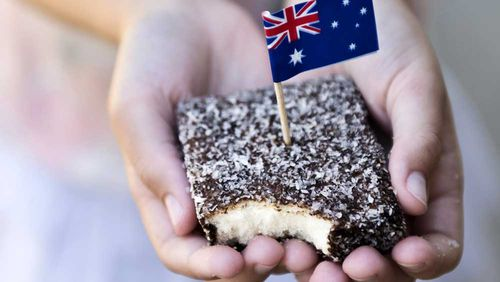 Healthy sugar free lamington