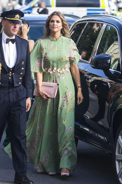 Princess Madeleine of Sweden at the 2018 Polar Music Prize award ceremony in Stockholm, Sweden, June, 2018