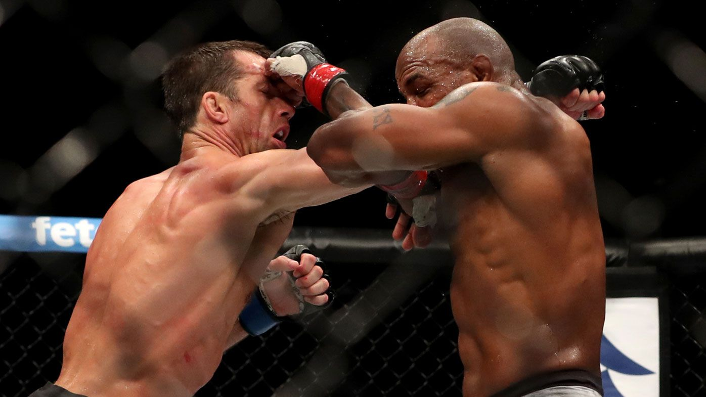 Yoel Romero and Luke Rockhold.