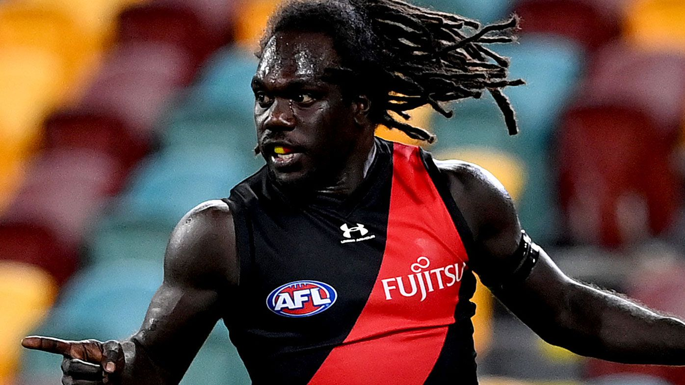 Nick Riewoldt slams 'ugly' abuse after mistake by Essendon's Anthony McDonald-Tipungwuti