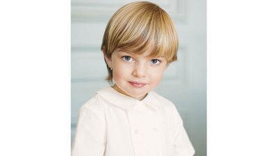 Prince Nicolas' official birthday portrait