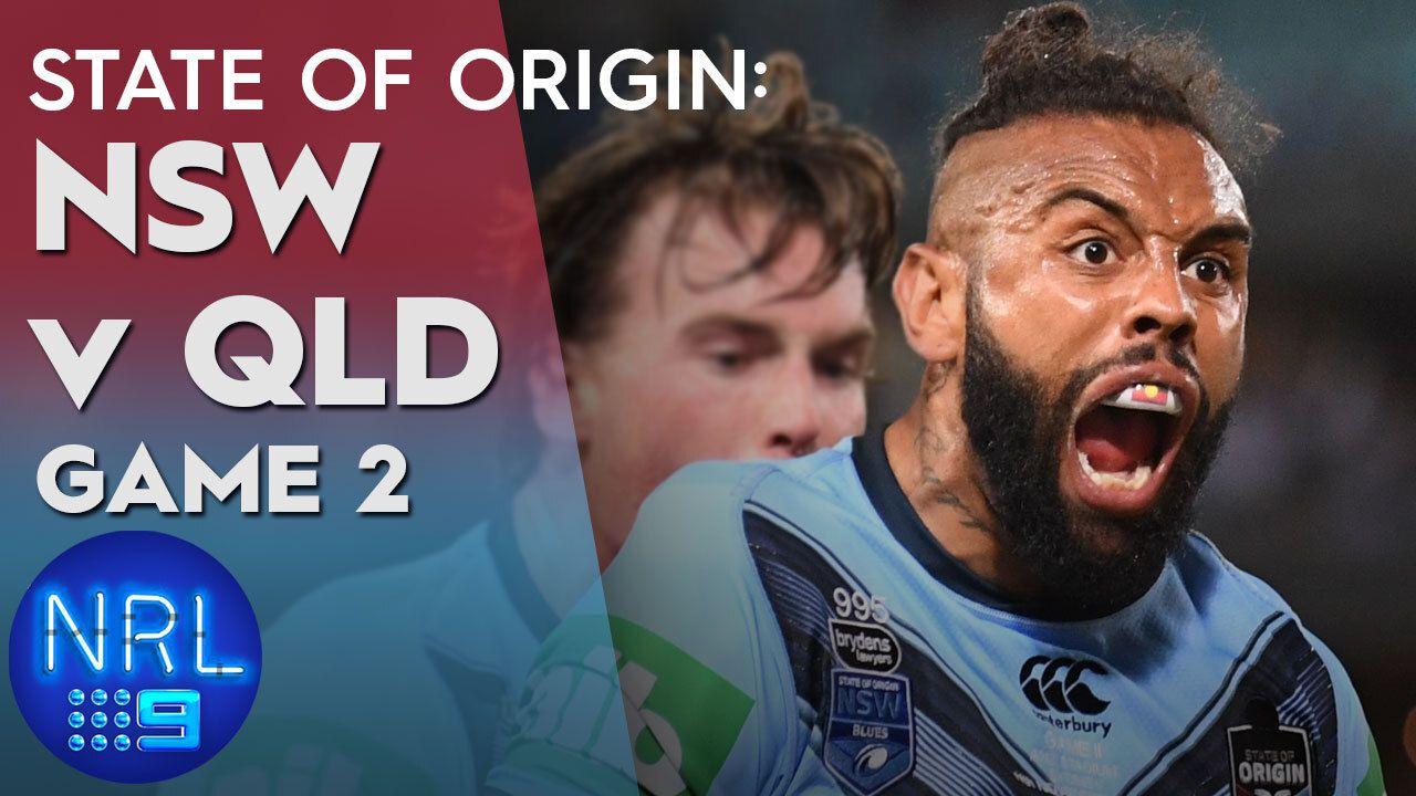 State of Origin Highlights: NSW v QLD - Game II: NRL ...