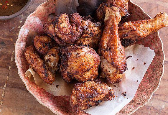 Leanne Kitchen and Antony Suvalko's fried nonya chicken