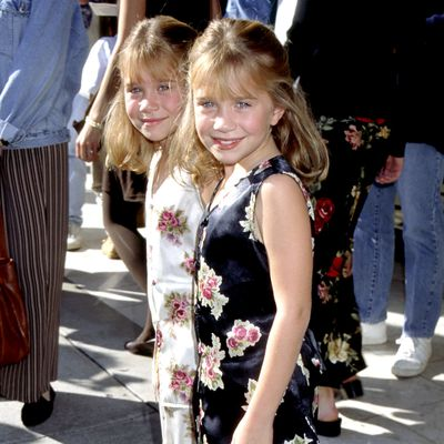 Mary-Kate and Ashley Olsen: 1995