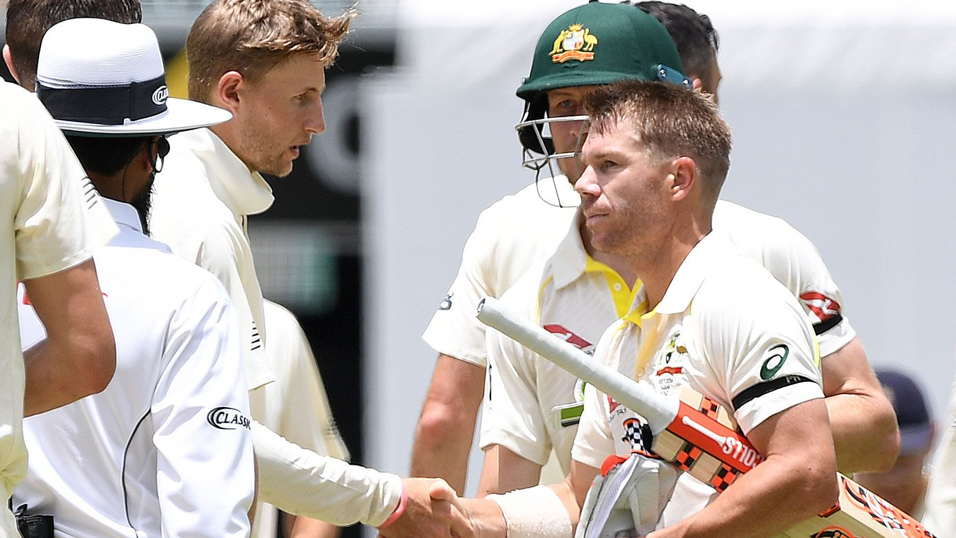 Joe Root and David Warner