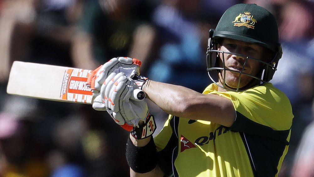 David Warner has taken a fresh approach. (AAP)