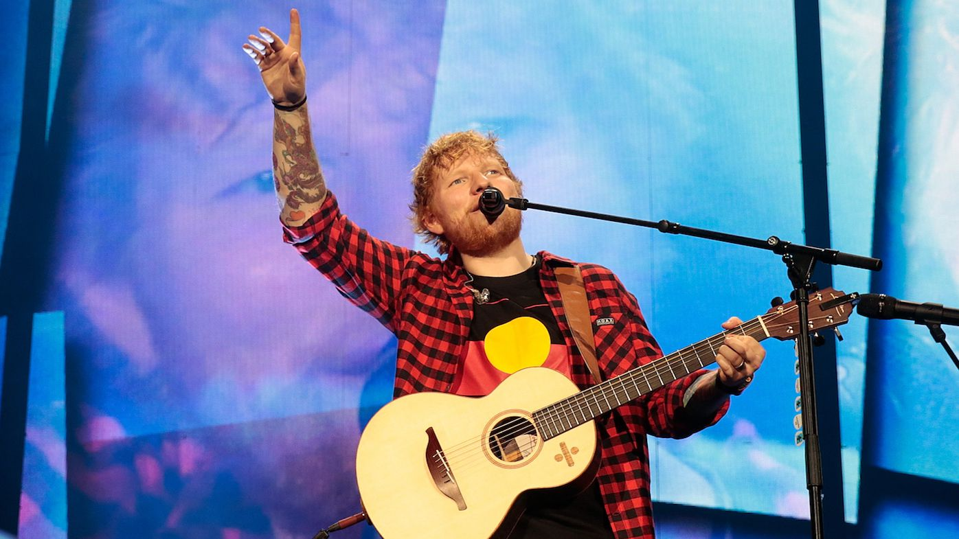 Concertgoers faint during Ed Sheeran show in Melbourne over the weekend