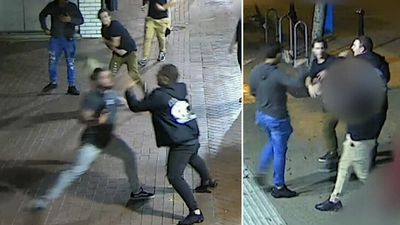 Woman hit the head with brick in violent Anzac Day attack