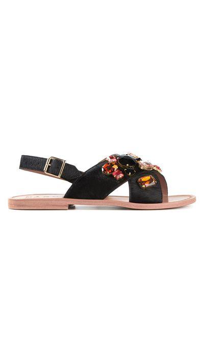"""<a href=""""http://www.farfetch.com/au/shopping/women/marni-embellished-sandals-item-10914324.aspx?storeid=9573&ffref=lp_50_15_"""" target=""""_blank"""">Embellished Sandals, $551.45, Marni at Farfetch.com</a>"""