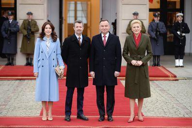 Princess Mary in Poland