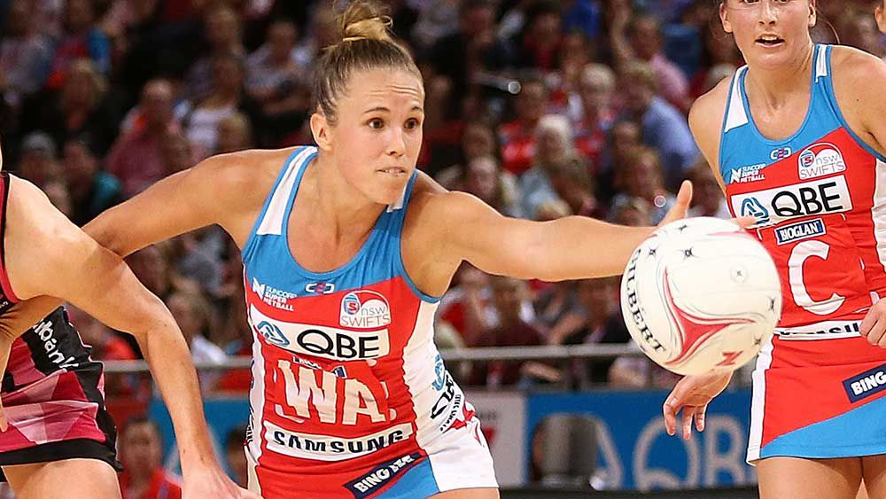 NSW Swifts player Paige Hadley. (Getty)
