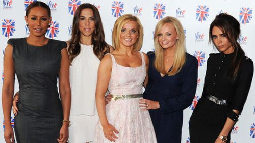 The Spice Girls in 2012. (Getty)