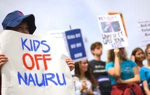 Last of refugee children to leave Nauru
