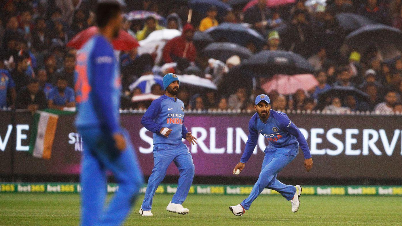Cricket: Australia vs India T20 game abandoned due to rain