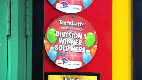 The ticket was sold at Coburg Hub Lotto in Melbourne.