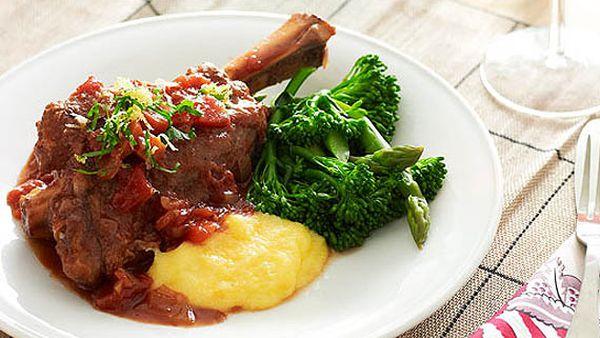1. Slow cooker lamb shanks