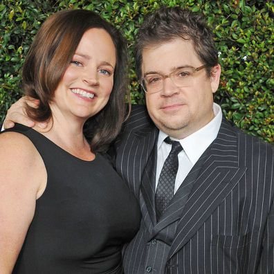 Michelle McNamara and Patton Oswalt.