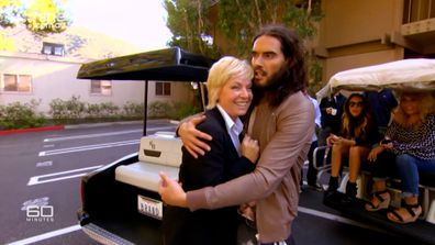 Liz Hayes will never forget her 2012 interview with Russell Brand.