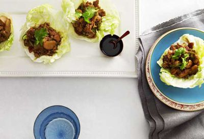 Quail lettuce delight