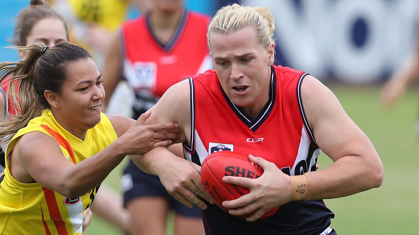 Hannah Mouncey withdraws from AFLW draft, accuses AFL of poor treatment