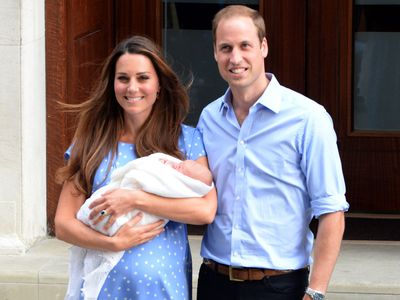 Prince George is born, July 2013