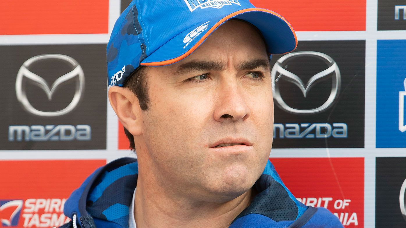 North Melbourne coach Brad Scott warns of the perils involved in AFL rule change