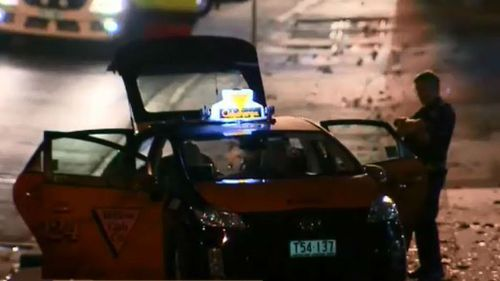 A Victorian man in his 20s died at the scene. (9NEWS)