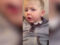 Toddler swears about Santa in hilarious video
