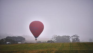 Hot air balloon Barossa Valley
