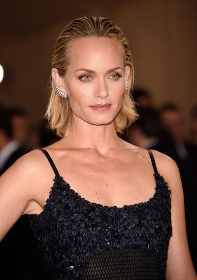 Amber Valetta looks as powerful and fresh as she did when she confirmed her supermodel status in the 90s.
