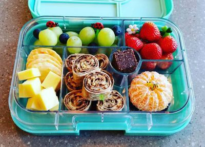"A buzzy garden Bento from <a href=""https://www.phunkybento.co.nz/"" target=""_blank"">Phunky Bento</a>, a New Zealand lunch-making accessory online store."