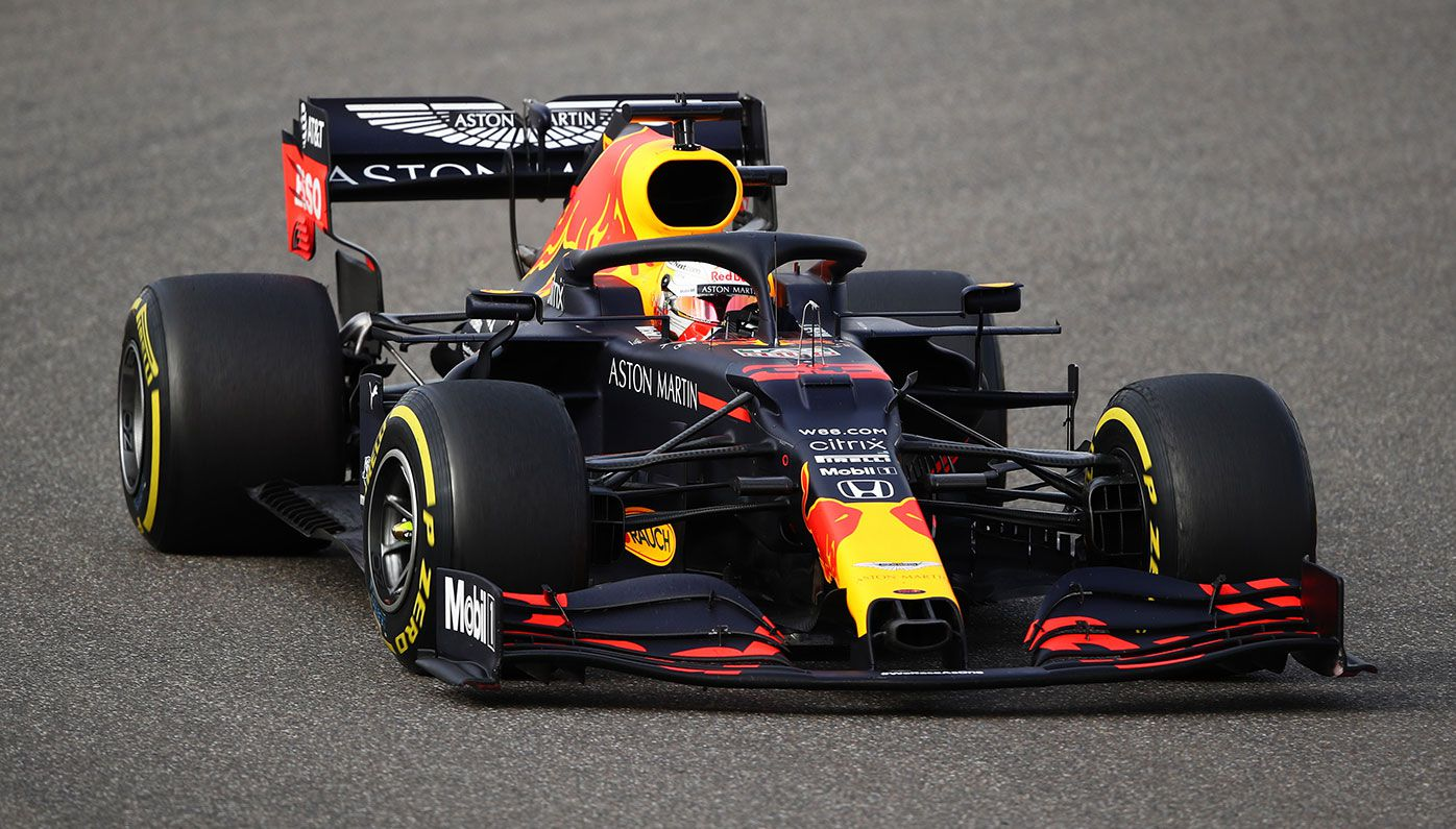 Max Verstappen finished second at the Eifel Grand Prix.