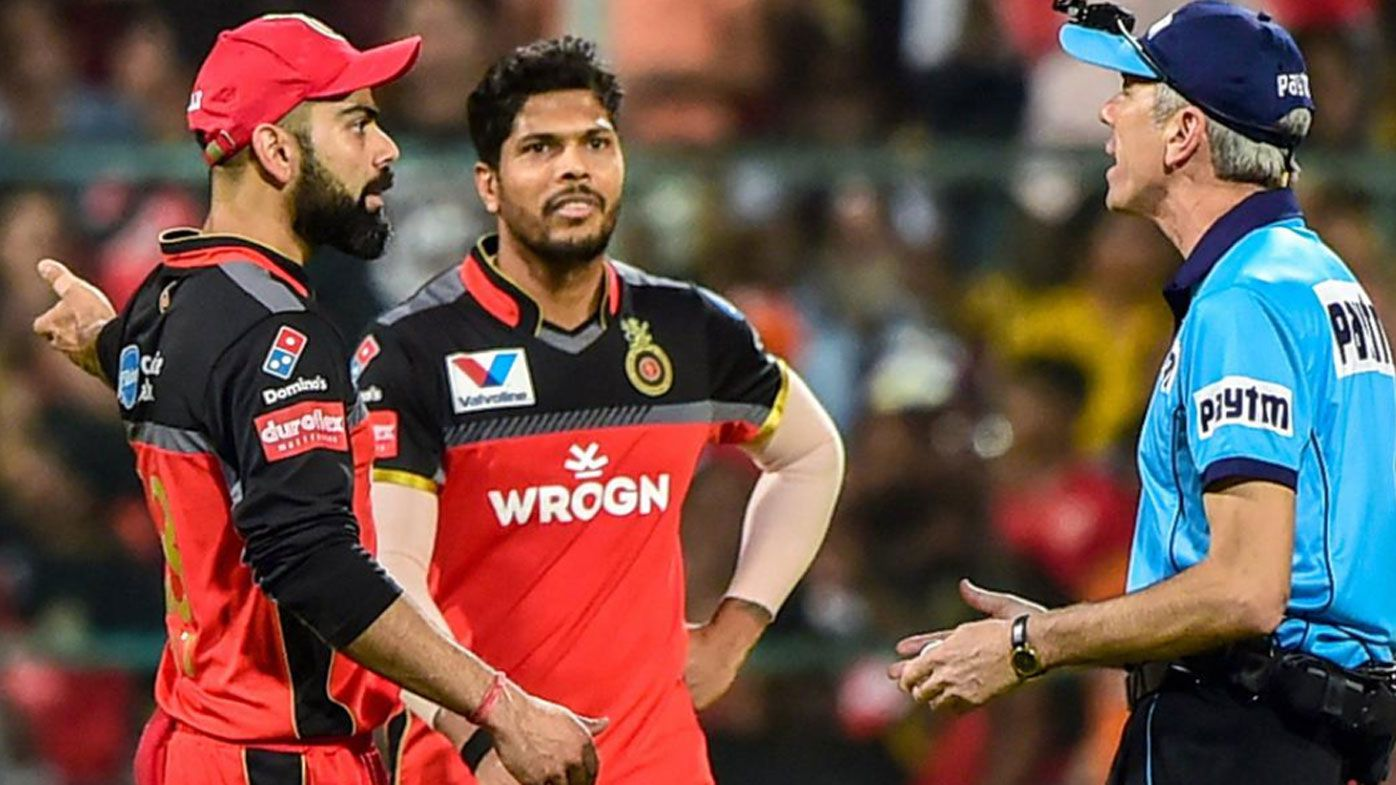 Umpire Nigel Llong reported for breaking door after argument with Virat Kohli