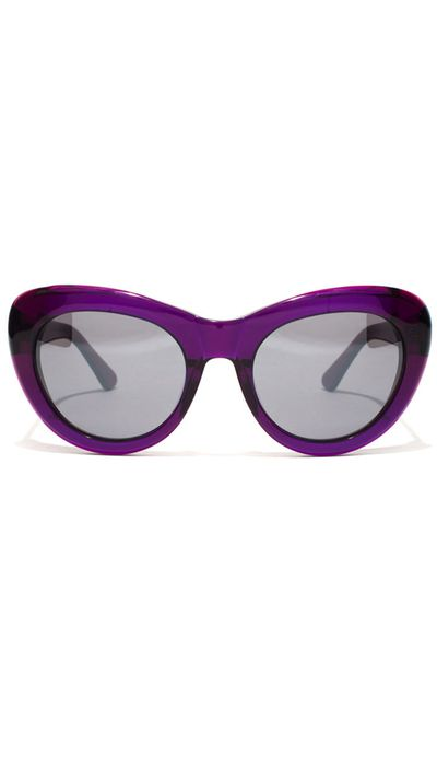 "<a href=""http://www.epokhe.co/collections/eyewear/products/klara-nlp-trans-purple-grey-gradient"" target=""_blank"">Sunglasses, $199.95, Epokhe</a>"